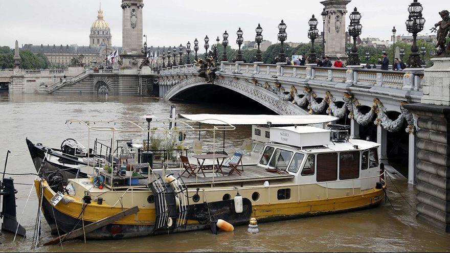 França/Inundações: Águas começam a baixar