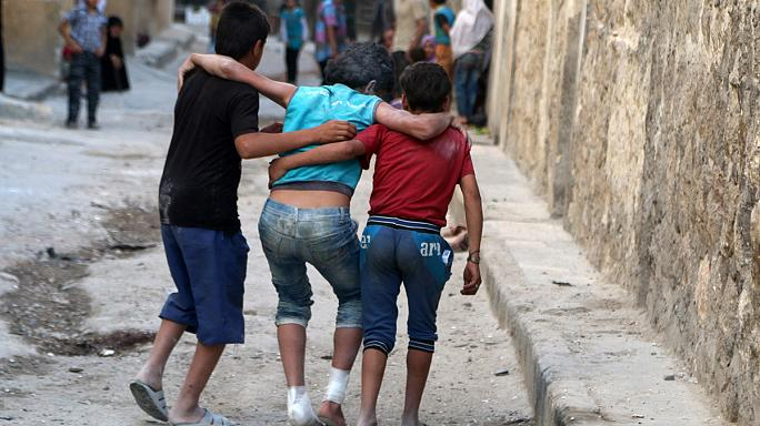 Halep'e hava saldırısı