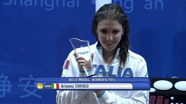 الايطالية أريانا إريغو تفوز بالجائزة الكبرى للمقبارزة بالسيوف في شنغهاي