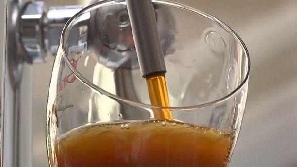 Bruges gets beer pumped in by pipeline