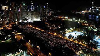 ۲۷ سال بعد از سرکوب «تیان آن من»؛ مراسم در هنگ کنگ٬ سکوت در پکن