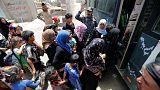 Felluce'de binlerce aile mahsur kaldı