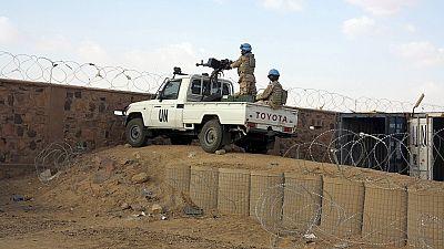Des militaires chinois se rendent au Mali