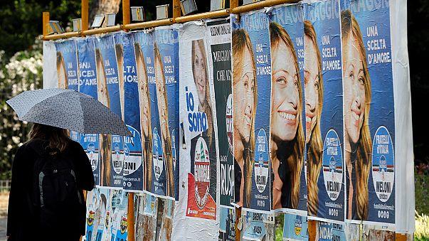 Les candidates en première ligne des municipales italiennes