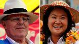 Stichwahl um Präsidentenamt in Peru - Fujimori Favoritin