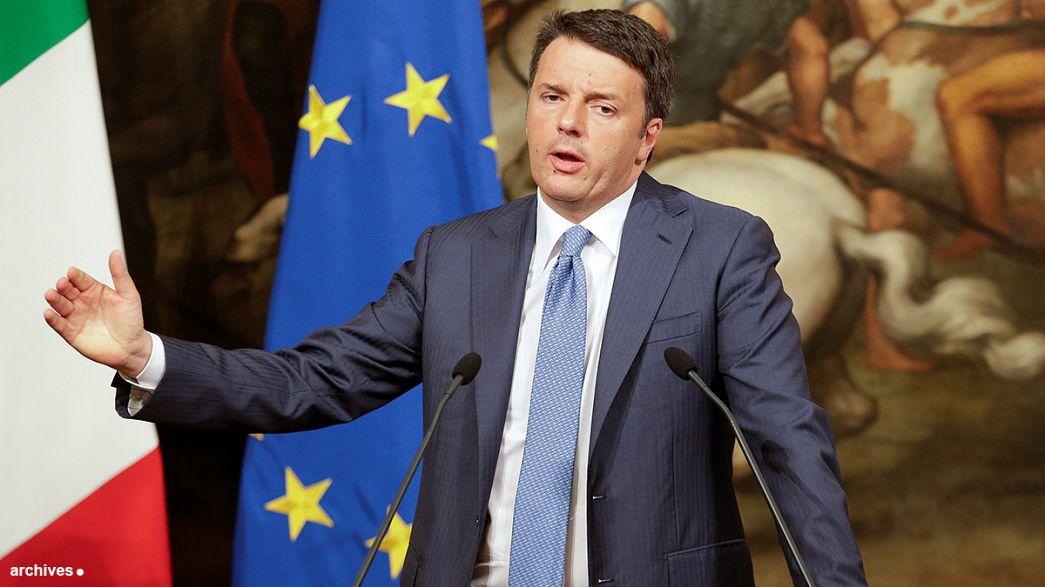 İtalya'da yerel seçimler Matteo Renzi'nin sınavı