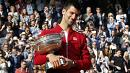 Novak Djokovic beats Andy Murray to win the French Open