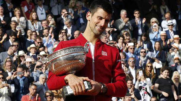 Novak Djokovic beats Andy Murray to win the French Open