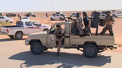 Libya's army recaptures strategic air base from IS in Sirte