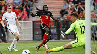 Belgien gewinnt im letzten EM-Test gegen Norwegen