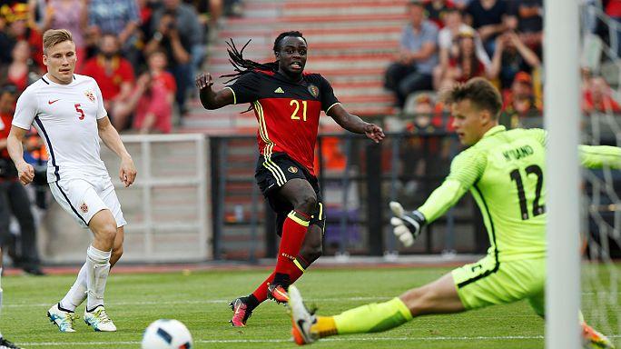 Belgium struggle past Norway in final Euro2016 warm-up fixture