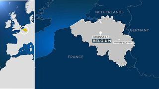 Столкновение поездов в Бельгии