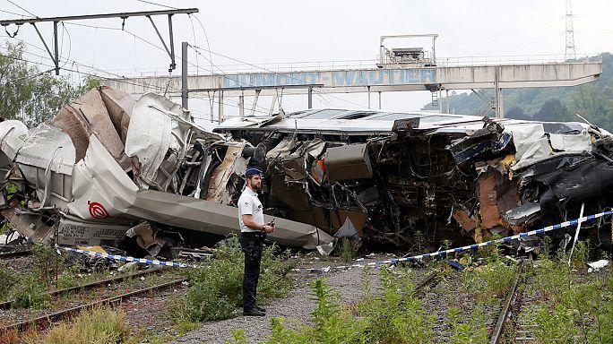 Belçika'da tren kazası 3 can aldı