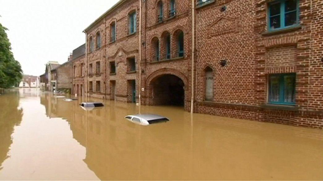 Франция подсчитывает убытки от наводнения