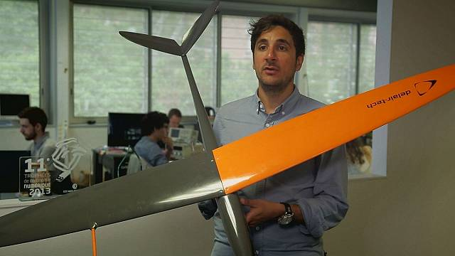 El jugoso pastel de los drones civiles profesionales