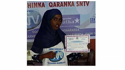 Young female journalist killed in Somalia