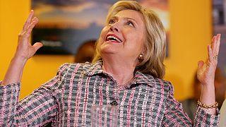 Hillary Clinton e Bernie Sanders taco-a-taco na Califórnia