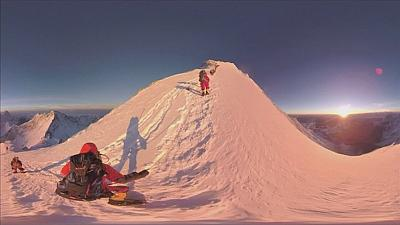 Everest for the armchair explorer in 360°