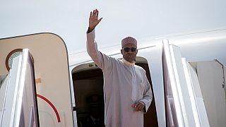 Buhari à Londres pour des soins médicaux