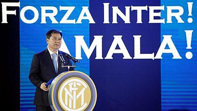 """Football : l'Inter Milan, désormais une """"propriété"""" chinoise"""