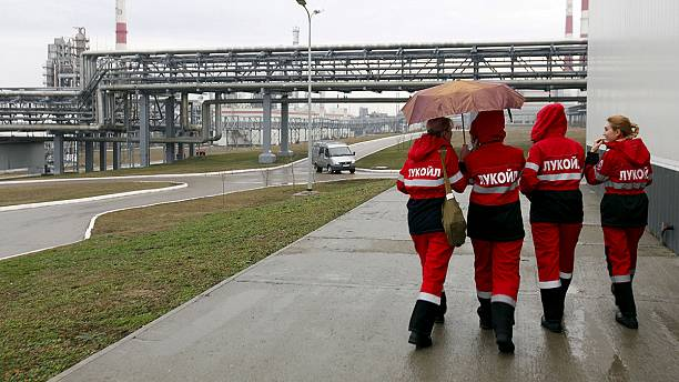 Lukoil profits hit by oil price slump