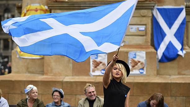 """Nae Brexit"" say Scots unwilling to follow England out of Europe"