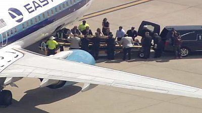La dépouille de Mohamed Ali a été rapatriée à Louisville