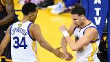NBA Finals: Warriors double lead over Cavaliers
