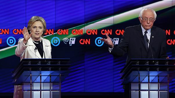 "Clinton and Sanders contest the last Democratic ""Super Tuesday"""