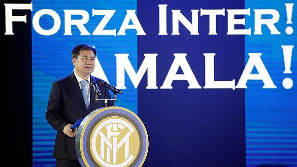 شركة سانينغ الصينية تشتري 70% من أسهم نادي إنتر ميلان