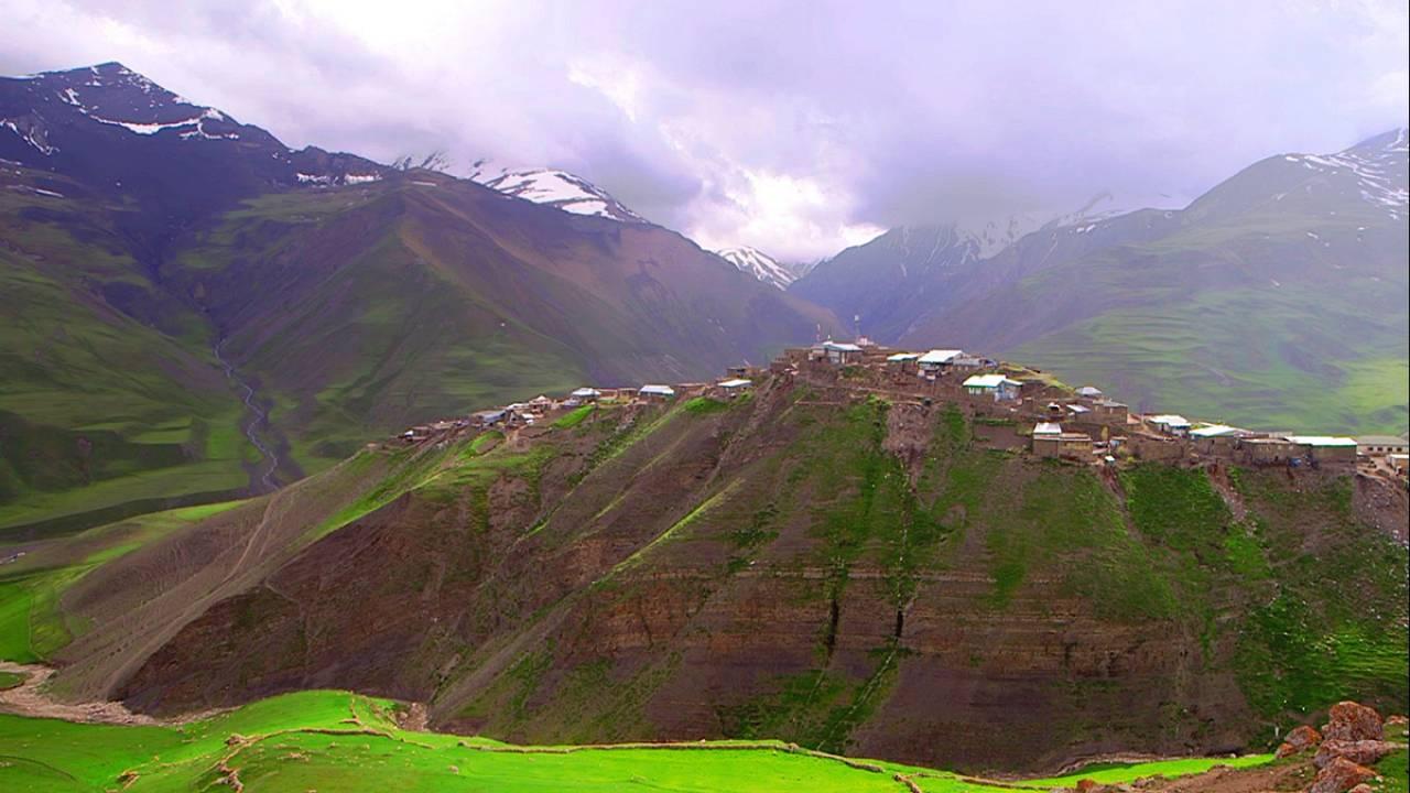 The remote mountain village that has its very own language