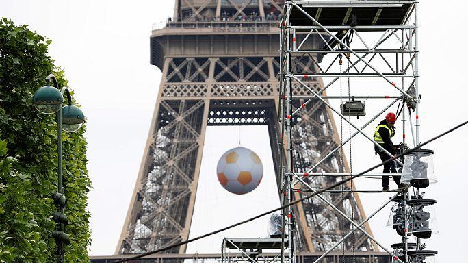 Al via gli Europei di calcio 2016. La Francia schiera eccezionali misure di sicurezza