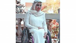 Meet Egypt's daring and ambitious wheelchair model