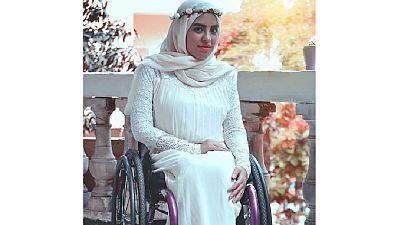 Egypte : une handicapée se bat pour attirer les maisons de mode