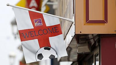 England and Switzerland arrive in France ahead of Euro 2016