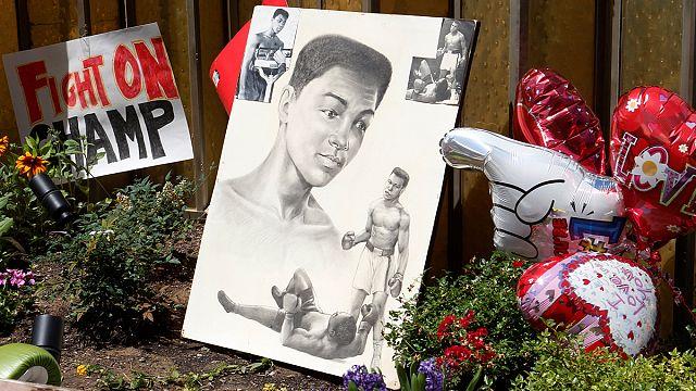Muhammed Ali'nin cenazesi doğduğu şehre getirildi