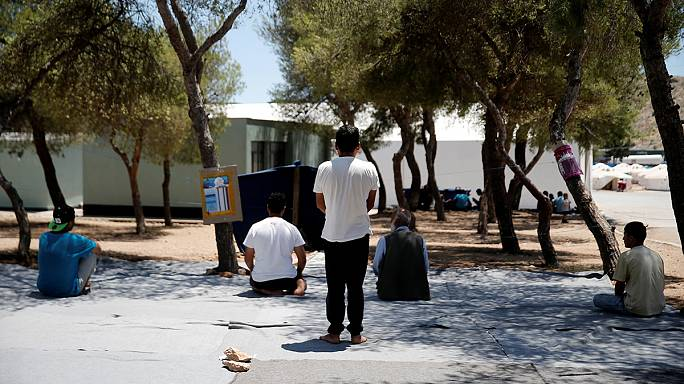 أول يوم من رمضان في مخيمات اللاجئين باليونان