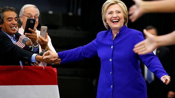 "EUA: Clinton chega ""vencedora"" à última ""Super Terça-Feira"""