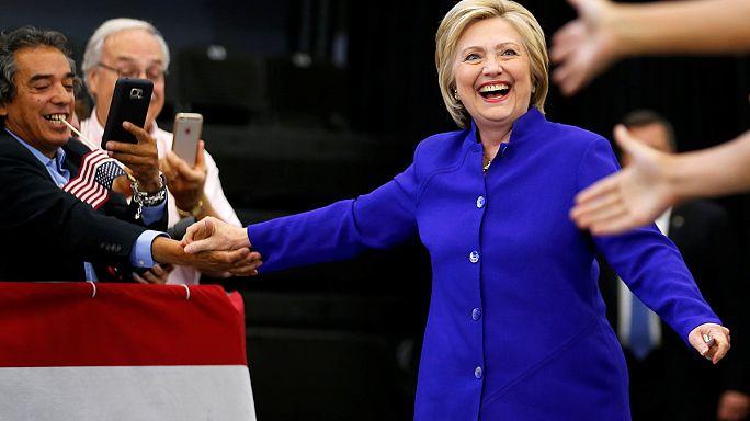 Clinton'ın yeterli delegeye ulaştığı iddia edildi