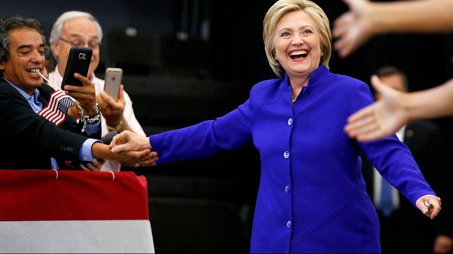 Hillary auf der Zielgeraden - laut Umfrage wird Clinton Spitzenkandidatin der US-Demokraten