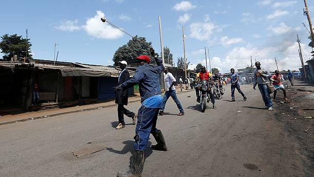 Protesters in Kenya say electoral body must go