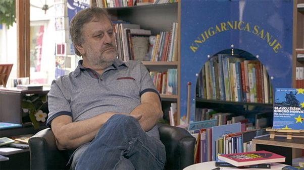 """Slavoj Žižek : """"Donald Trump dit aussi des choses très correctes"""""""
