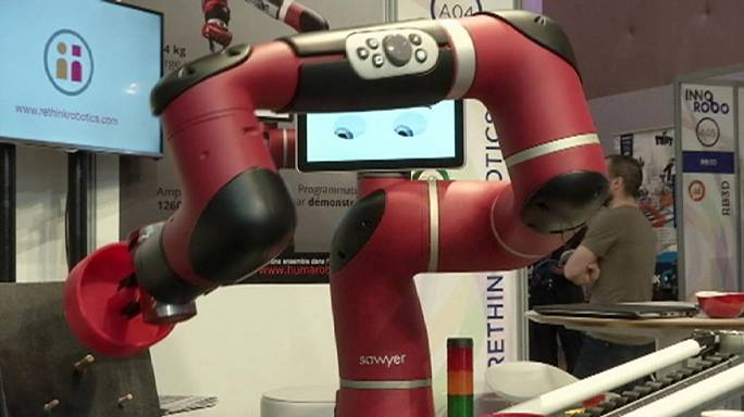 Geleceğimizi şekillendirecek robotlar bu fuarda