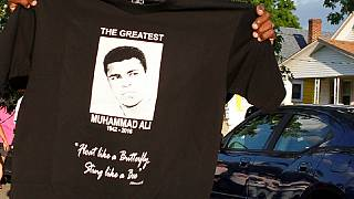 Africa's 'greatest' hails Muhammad Ali, 'world's greatest'