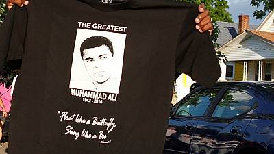 Africa's 'greatest' hails Muhammad Ali, 'world's greatest'