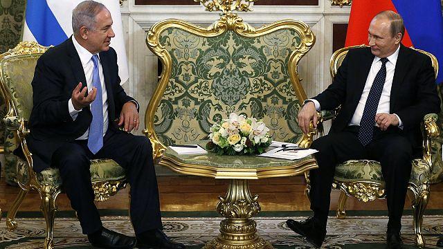نتنياهو في موسكو ليبحث مع بوتين الوضع في سوريا