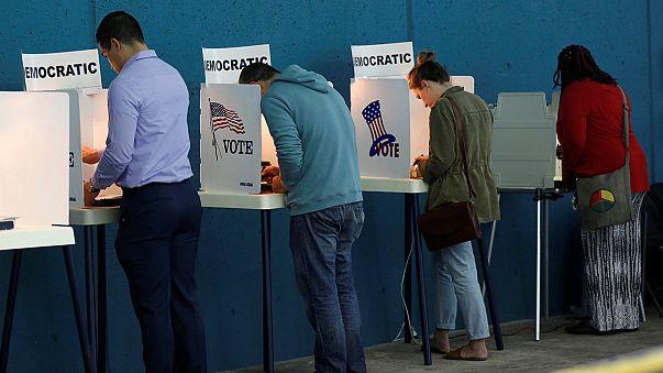 بدء معركة التصويت الأخيرة قبل الاقتراع الرئاسي بين هيليري كلينتون وبيرني ساندرز