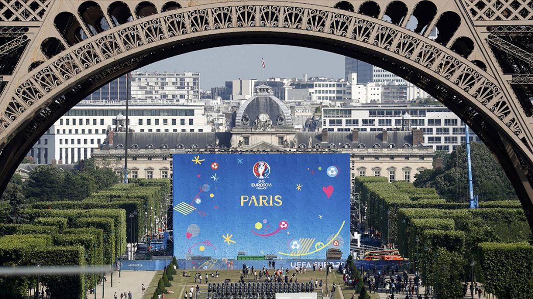 Франция встречает участников Евро-2016