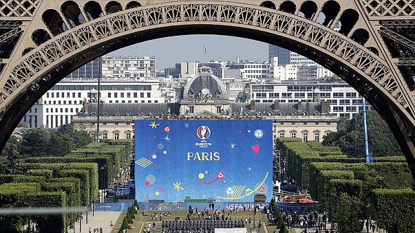 Football fever grips France ahead of Friday's opening Euro 2016 match