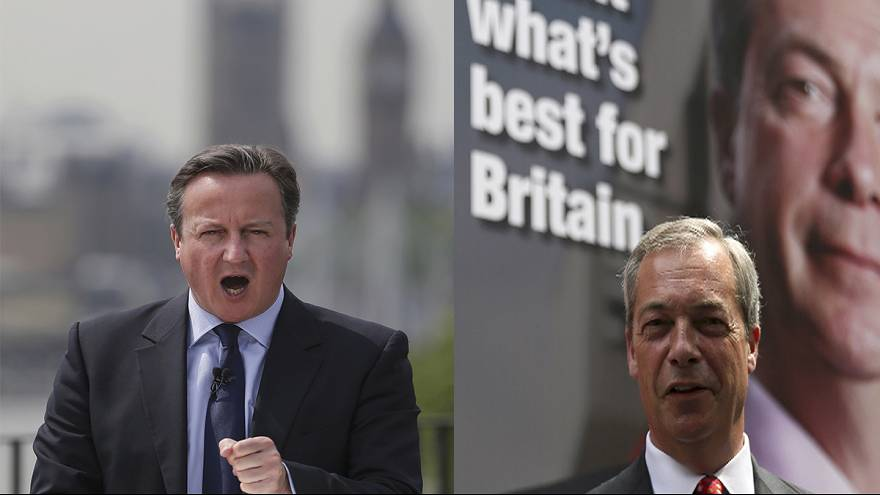 Cameron and Farage face televised audience questions over Brexit